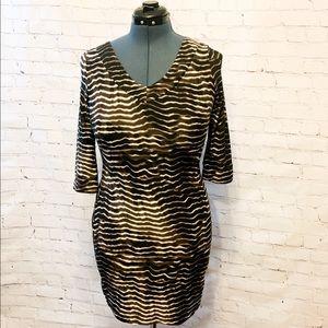 BCBGMaxazria Flattering Form Fitting Dress